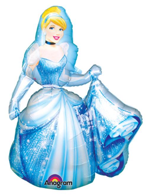 """53"""" Cinderella Sparkle Airwalker Balloon"""