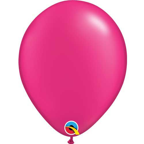 "Qualatex 11"" Metallic Pearl Magenta Latex Balloon"