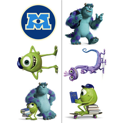 Monsters University Tattoos
