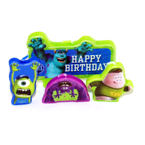 Monsters University Molded Candle Set