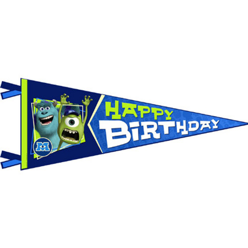 Monsters University Birthday Banner