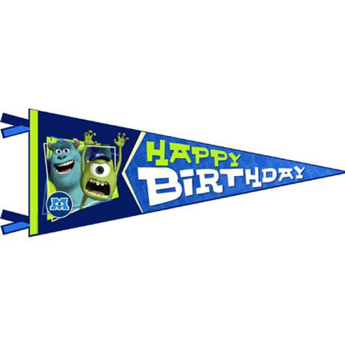 Monsters University Birthday Banner
