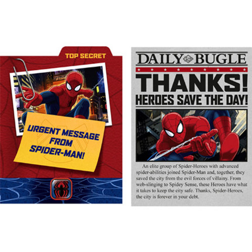 Ultimate Spiderman Invitations & Thank You Combo