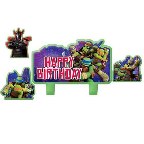 Teenage Mutant Ninja Turtles Molded Candle Set