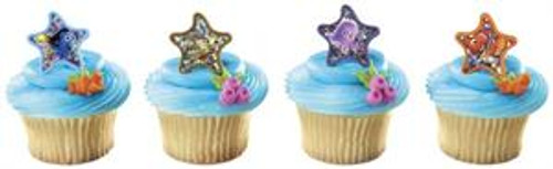 Finding Nemo Star Cupcake Rings