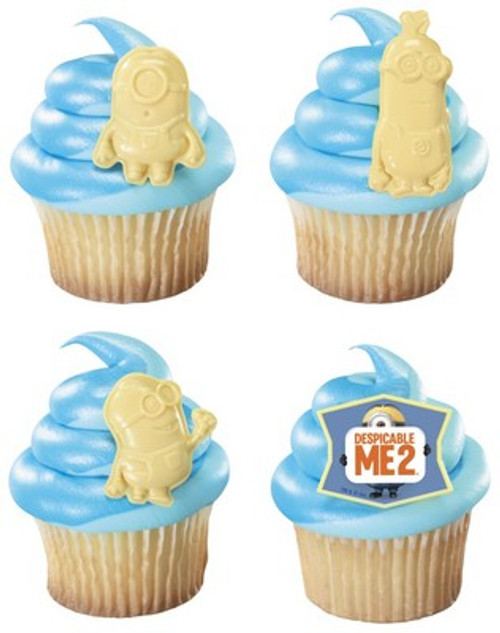 Despicable Me 2 Cupcake Rings