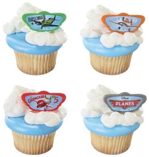 Disney Planes Cupcake Rings