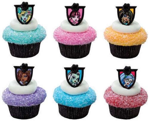 Monster High Cupcake Rings