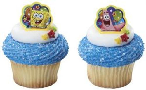 SpongeBob SquarePants Cupcake Rings