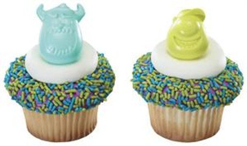 Monsters University Cupcake Rings