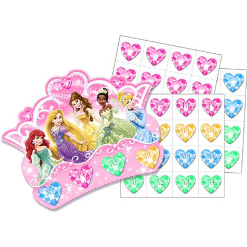 Disney Very Important Princess Bingo Party Game