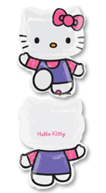 """30"""" Hello Kitty Pink & Purple Super Shape Balloon"""