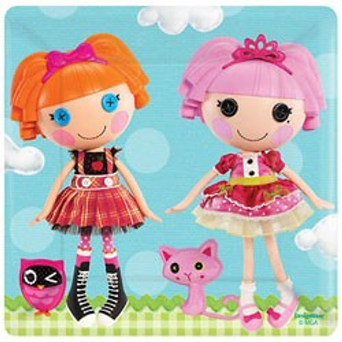 "Lalaloopsy 7"" Square Dessert Plates"