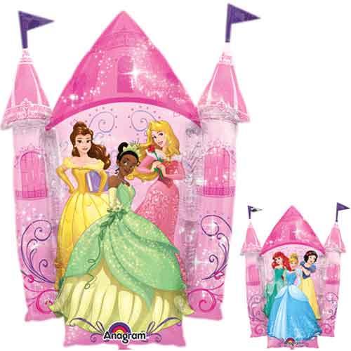 "35"" Disney Princess Castle Super Shape Balloon"