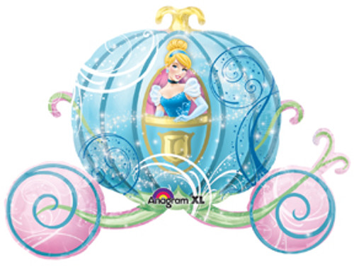 "33"" Cinderella Carriage Super Shape Balloon"