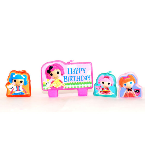 Lalaloopsy Molded Candle Set
