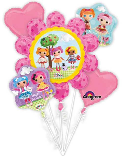 Lalaloopsy Birthday Balloon Bouquet