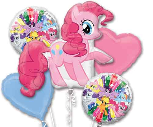 My Little Pony Pinkie Pie Balloon Bouquet