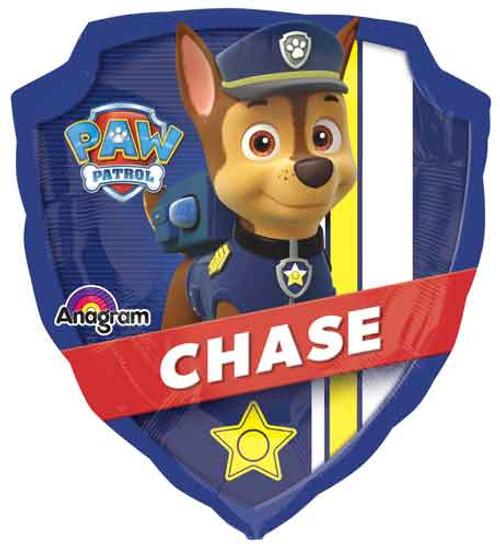 "27"" Paw Patrol Shield Super Shape Balloon"