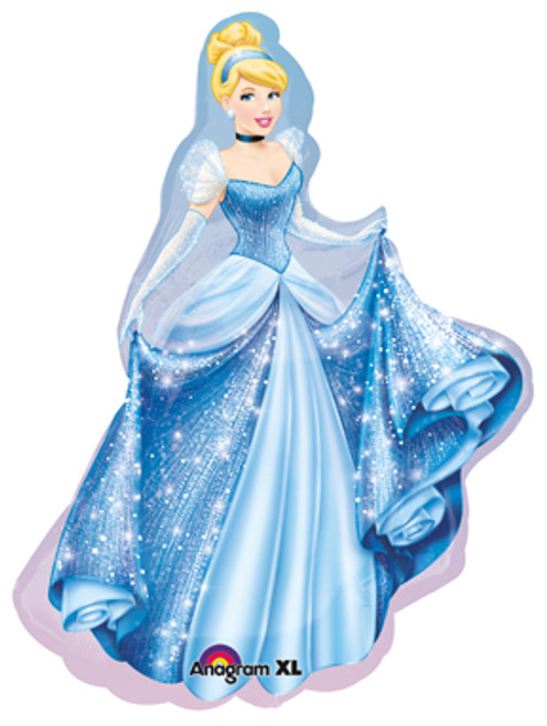 "24"" Cinderella Sparkle Super Shape Balloon"