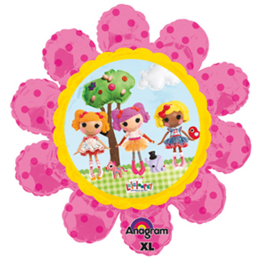 "29"" Lalaloopsy Flower Super Shape Balloon"