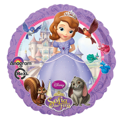 "17"" Sofia The First Balloon"