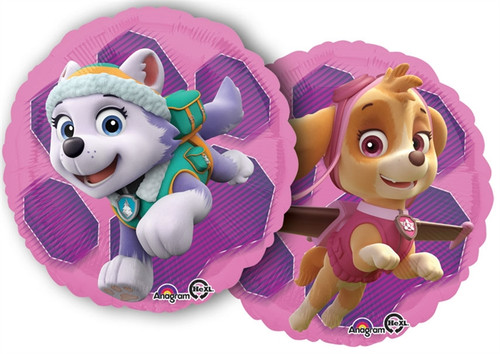 "17"" Paw Patrol Skye and Everest Balloon"