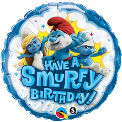 "18"" Have A Smurfy Birthday Balloon"