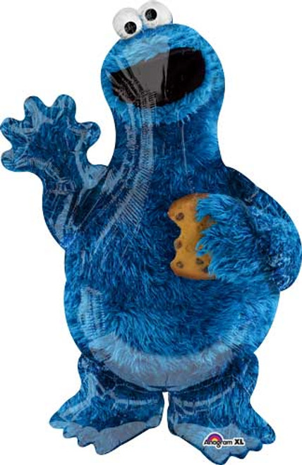 "35"" Cookie Monster Super Shape Balloon"