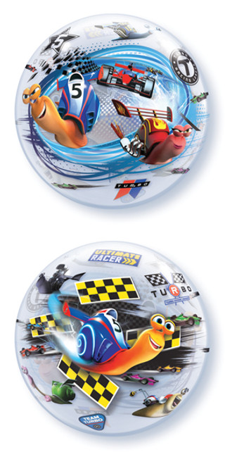 "22"" Turbo Racing League Bubble Balloon"