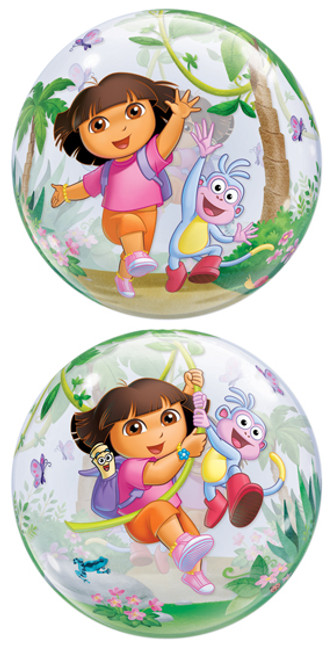 "22"" Dora The Explorer & Boots Bubble Balloon"