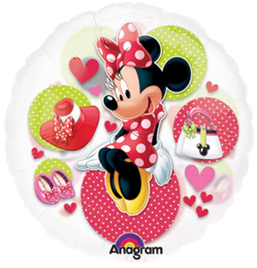 "26"" Minnie Mouse See Thru Balloon"