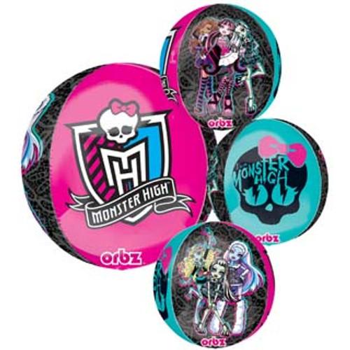 "16"" Monster High Orbz Balloon"