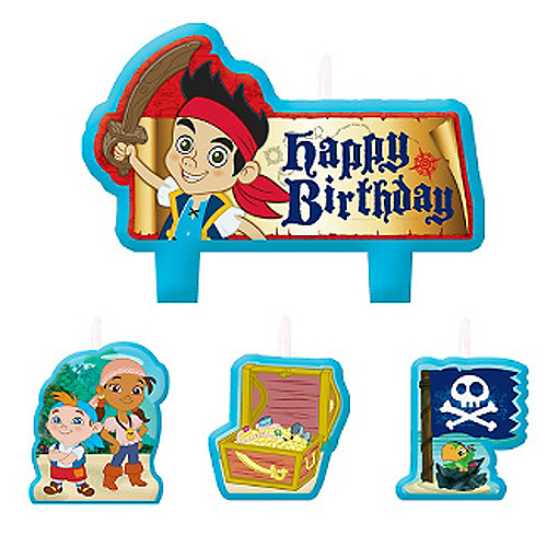 Jake & Never Land Pirates Molded Candle Set