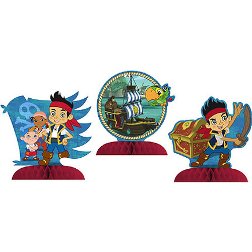 Jake & Never Land Pirates Mini Centerpieces