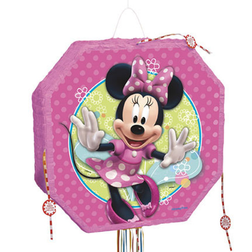 Minnie Mouse Popout Pull String Pinata