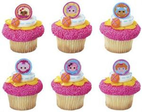 Lalaloopsy Cupcake Rings