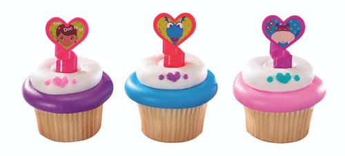 Doc McStuffins Cupcake Rings