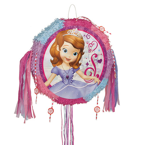 Sofia The First Popout Pull String Pinata