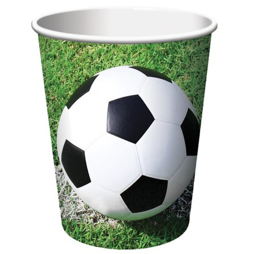 Sports Fanatic Soccer 9 oz. Hot/Cold Cups