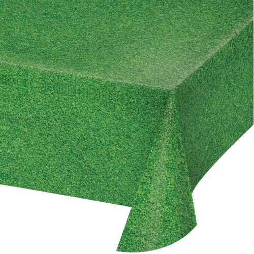 Grass Print Plastic Tablecover