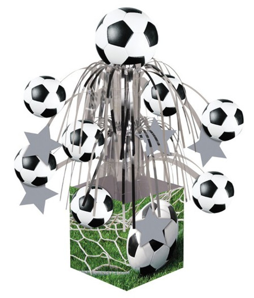 Sports Fanatic Soccer Mini Cascade Centerpiece