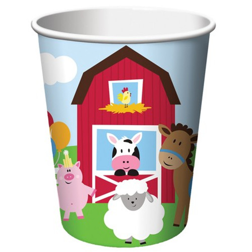 Farmhouse Fun 9 oz. Hot/Cold Cups