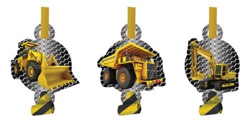 Construction Zone Foil Blowouts