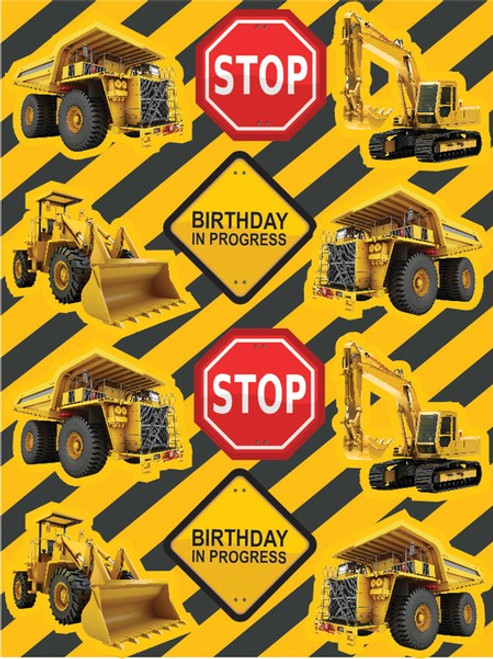 Construction Zone Value Stickers