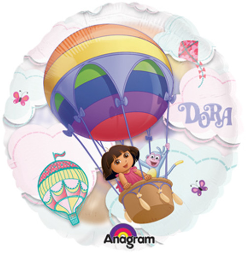 "26"" Dora Hot Air See Thru Balloon"