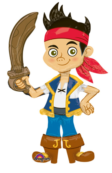 "75"" Jake & Neverland Pirates Airwalker Balloon"