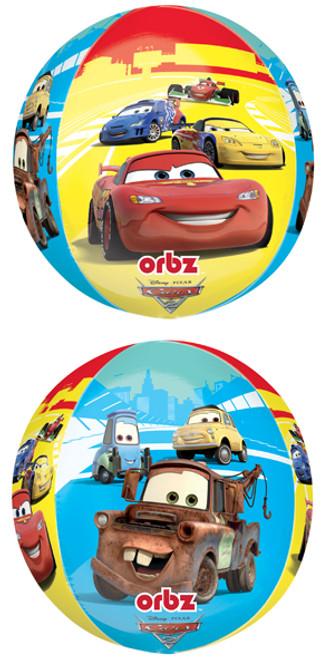 "16"" Disney Cars Orbz Balloon"
