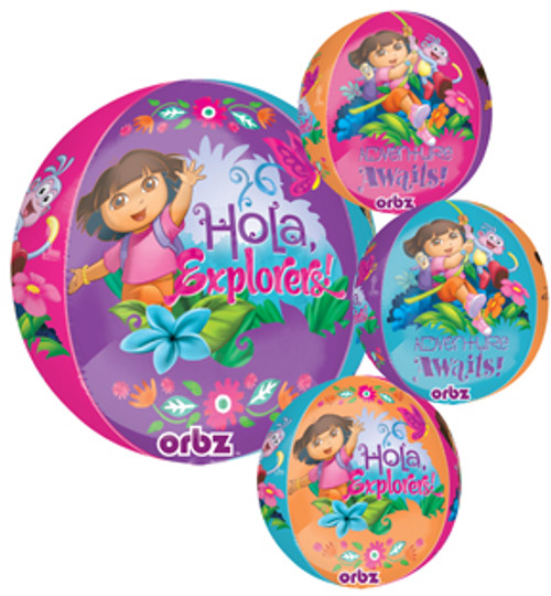 "16"" Dora The Explorer Orbz Balloon"