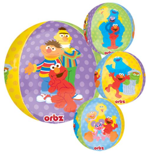 "16"" Sesame Street Orbz Balloon"